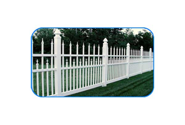 fairfax vinyl picket fence