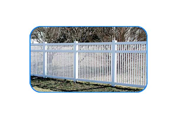 jamestown vinyl picket fence