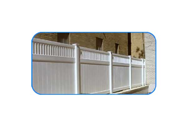 petersburg flat picket vinyl privacy fence