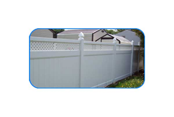 petersburg lattice vinyl privacy fence