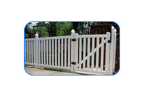 pungo vinyl picket fence