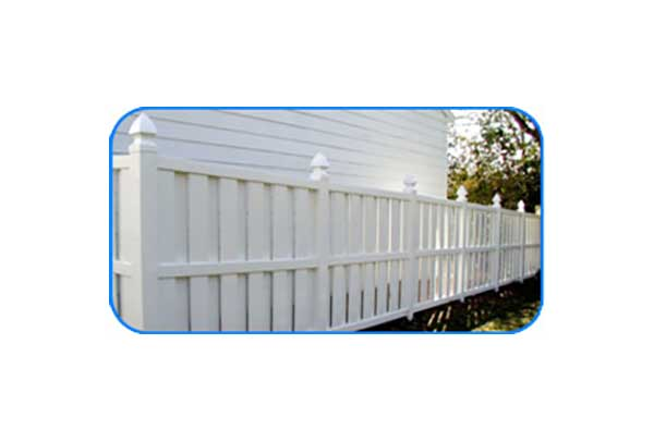 shadowbox vinyl semi privacy fence
