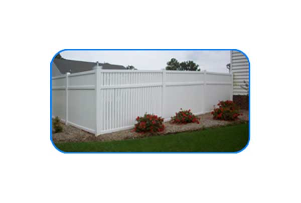 suffolk modified vinyl semi privacy fence