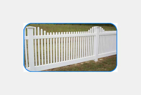 yorktown vinyl picket fence